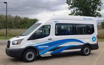 Laketran, Lake County's public transit operator, will receive $75,000 to test a new on-demand van service from underserved areas to high-paying manufacturing jobs.