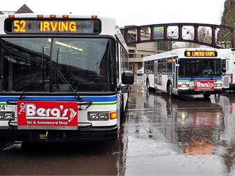 Temperature extremes and heavy rain reduce weekday bus ridership in Lane County, Oregon, except in low-income neighborhoods, according to a University of Oregon study.