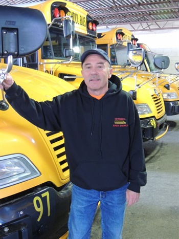 Larry Hannon Sr. has placed first nine times at the School Bus Driver International Safety Competition.