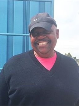 """BART train operator Larry Williams knows the """"regulars"""" from his route, if not by name, at least by faces. Photo: BART"""