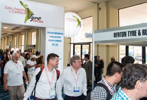 Nearly 200 international and retread manufacturers ad distributors met with buyers at the 2018 Latin Tyre Expo.