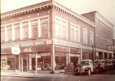 During the Great Depression, founder Leon Lewis Sr. recruited two partners, including Joseph Scanlon, and renamed the store Scanlon-Lewis General Tires.