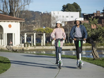Many have theorizedthat micromobility vehicles, such as scooters,could provide better and more convenient connectivity to transit nodes. Lime