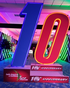 The Expo celebrated its 10th anniversary and was held at the Atlapa Convention Center in Panama City, Panama.