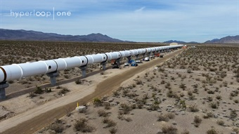 Photo: Hyperloop One