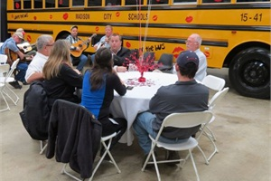 On Feb. 4, Transportation South in Pelham, Ala., held a Love the Bus event to recognize the state's best bus drivers, as voted by students, parents and teachers. Attendees enjoyed lunch while listening to music and hearing from state director Joe Lightsey.