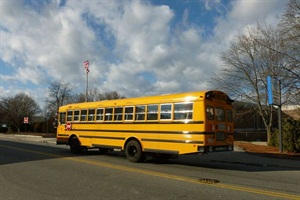 A new appropriation in Massachusetts covers some of the $18 million that was cut from regional school transportation funding last year. Photo by Emw via Wikimedia Commons