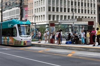 M-1 RAIL, the QLINE's nonprofit owner and operator, projects that the QLINE will average 5,000 rides in its first year and up to 8,000 rides within five years. Photo: HNTB