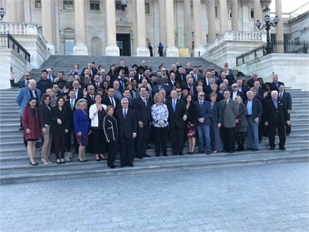 Last year, 116 members of met with more than 150 Congressional offices to discuss the priorities and issues facing the motorcoach industry today.