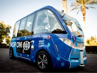 The project comes on the heels of the successful autonomous shuttle that operated on a one-mile loop in downtown Las Vegas from November 2017 to November 2018, which transported more than 32,000 individuals on nearly 5,000 trips.
