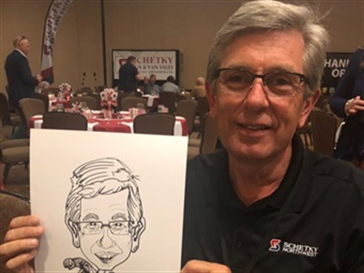 """John """"Randy"""" Schetky, president and owner of Schetky Bus and Van Sales, passed away early in the morning of April 3. Photo courtesy Schetky Bus and Van Sales"""