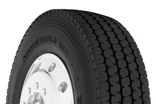 """The Toyo NanoEnergy M671 super regional drive tire signals a new, segment-specific product for the evolving freight market,"" says Dave Johnston, director of sales for commercial tires at Toyo."