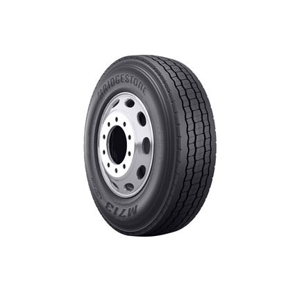 The new Bridgestone M713 Ecopia is a SmartWay-verified drive tire designed for tandem-axle long-haul and regional applications.