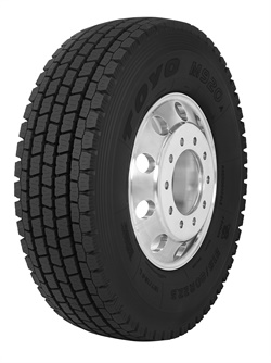 The M920 is now available in eight sizes, with the addition of the315/80R22.5,11R24.5, and285/75R24.5m