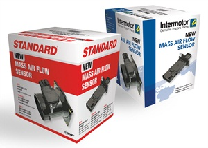 All new Standard MAF sensors are covered by a 3-year/36,000-mile warranty, are available for immediate order and shipment, and are shipped in high-impact Standard or Intermotor graphic packaging that reinforces product quality.