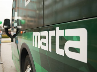 The Metropolitan Atlanta Rapid Transit Authority will receive $2.6 million to purchase battery electric buses and chargers.MARTA