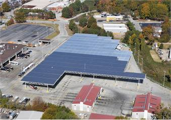 Metropolitan Atlanta Rapid Transit Authority has the largest solar canopy installation at a bus garage in Georgia.