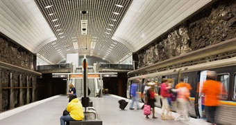 The More MARTA Atlanta program, which will be partially funded by approximately $2.7 billion generated by a half-penny sales tax, includes plans to upgrade existing rail stations. Photo: MARTA