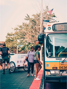 Along with boarding platforms that are level with bus entrances and exits, the city is testing sensor-equipped traffic signals that prioritize buses, turning green as the vehicles approach key intersections.
