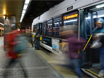 The bill reauthorizes and expands the special revenue bond Rail Enhancement Program to support $2.7 billion for MBTA investments over the next 10 years.