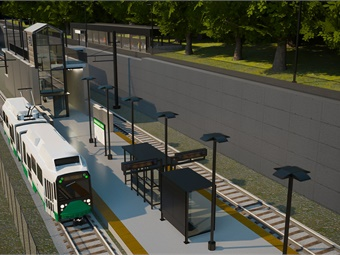 STV will serve as the lead designer for the Massachusetts Bay Transportation Authority's (MBTA) $1.3 billion Green Line Light Rail Extension. Image: GLXC