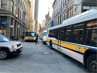 Transit agencies face a number of challenges including keeping the fleet clean.Janna Starcic