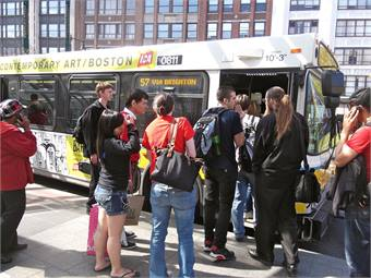 Photo courtesy Miles, the MBTA guy