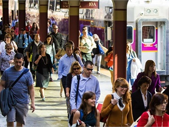 The Massachusetts Bay Transportation Authority and its commuter rail operating partner Keolis will begin replacing 38,000 feet of rail along the corridor of the Worcester line. Photo: MBTA