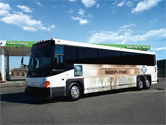 MCI's CNG commuter coach