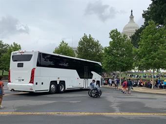 Since its unveiling in fall 2017, the MCI D45 CRT LE has joined public transit fleets and the private commuter service of a Silicon Valley giant.