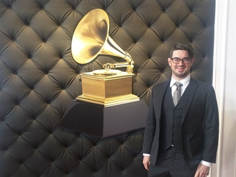 Andrew Craig Brown, a bass-baritone who earned a master's degree in music from Yale University in 2011, won a Grammy Award at this year's event.