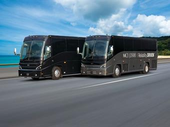 MCI will officially launch the MCI J3500 coach to the industry during BusCon Expo at the Indianapolis Convention Center October 1 to 3.