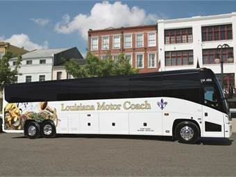 Louisiana Motor Coach is distinguished by its newer fleet, commitment to service, and unique excursions. MCI
