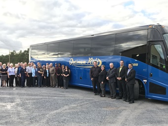 On Oct. 10th, Keith marked a milestone by adding a brand new, 2018 MCI J4500 coach — the first all-new coach the 17-year-old New Brunswick tour and charter company has ever owned.