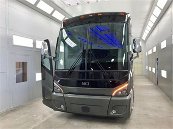 The facility features the latest state-of-the-art equipment, including a paint booth. Photo: METRO Magazine