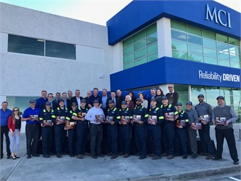 With hundreds of coach operators, local officials and other guests on hand, MCI cut the ribbon on this new four-acre facility, creating 30 new jobs and investing nearly $3 million in what is becoming one of the busiest motor coach corridors in the country. Photo: METRO Magazine
