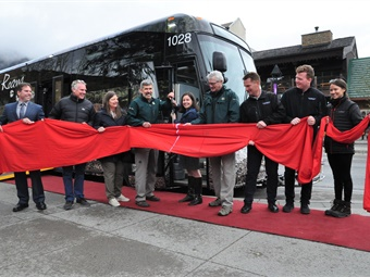 The new buses continue to help with BVRTSC's mission of moving people throughout the Bow Valley and Banff National Park too, which has continued support from the commission's municipal partners.MCI