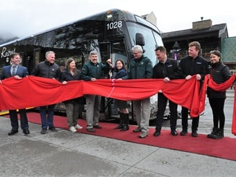 The new buses continue to help with BVRTSC's mission of moving people throughout the Bow Valley and Banff National Park too, which has continued support from the commission's municipal partners.