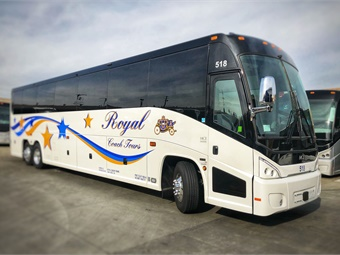 Royal Coach has served the Bay Area since 1960 and now operates a fleet of 97 vehicles by offering nationally known service and innovative transportation solutions.MCI