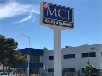 The new MCI location is near the eastern end of the San Mateo-Hayward Bridge, easily accessible from the local interstates.