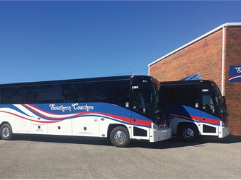 Mci Delivers 2 J4500s To Ala Motorcoach Metro Magazine