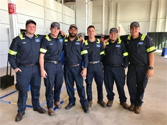 The facility's technicians — all local to nearby areas — completed nearly a month of award-winning MCI Academy training. Photo: METRO Magazine