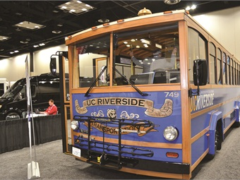 CCW's ZEPS-powered trolley bus.