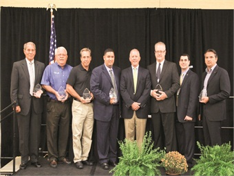 The PERC awards honored operators who have made a commitment to propane autogas usage.