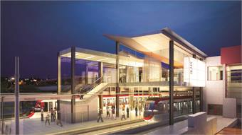 Ottawa, Ontario's Confederation Line light rail system will feature a 1.5-mile downtown tunnel and 13 stations.