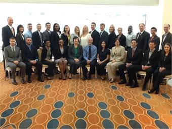 APTA's Early Career Program provides mentorship to young transit professionals over the course of one year. Participants (the first class is shown here) are assigned two mentors at the senior level — one local and one out of state.