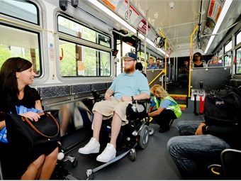 Progress in bus accessibility has been outstanding, with 98.7% of fixed-route buses now accessible, following years of systematic retrofitting and redesigning.Valley Metro