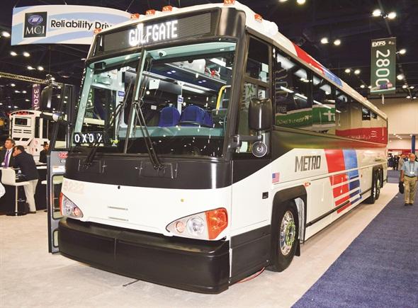 Clean Diesel Commuter Coach Bus Metro Magazine
