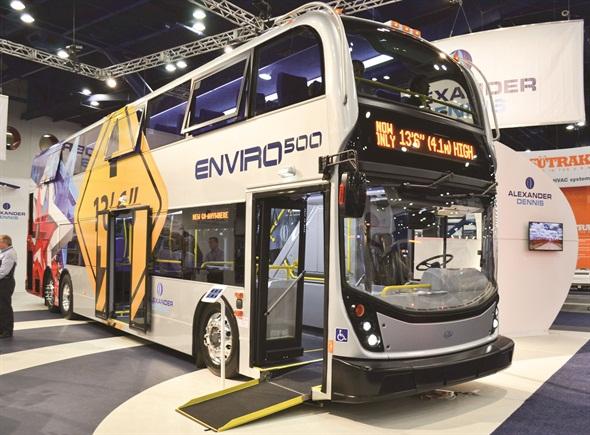 Enviro500 Double Deck Bus Bus Metro Magazine