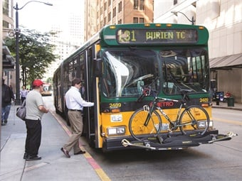 When passengers want to ride, they don't care what time the bus arrives or where it comes from. They want to be sure the bus does not leave before the appointed time. King County Metro